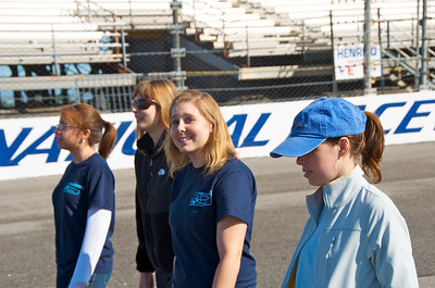 Team Dominion on the Track