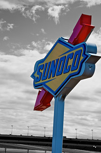 Sunoco Sign at RIR