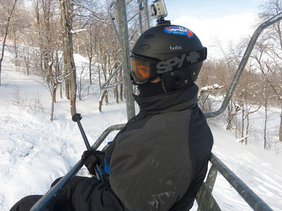 2011/01/22 Snowboarding