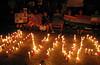 20110817 Anti-corruption pro-Anna Hazare candelight vigil, Cary NC (830p) (by Dilip Barman)-2