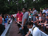 20110817 Anti-corruption pro-Anna Hazare candelight vigil, Cary NC (800p) (by Dilip Barman) - looking around