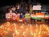 20110817 Anti-corruption pro-Anna Hazare candelight vigil, Cary NC (830p) (by Dilip Barman)