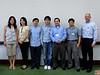 from left to right: Sophia, Lucy, Chong, Chuan, Bin, Chris Bian, David