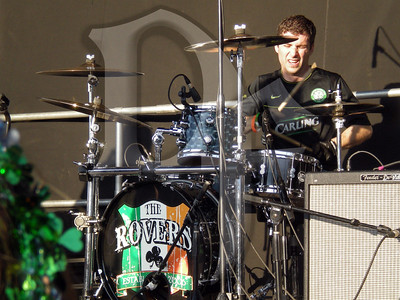 The Rovers perform during Shamrock Fest 2011