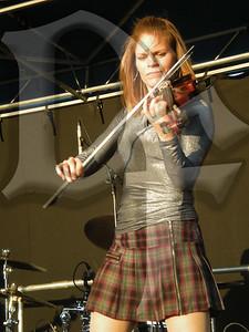 Jennifer Garman of The Rovers  performs during Shamrock Fest 2011