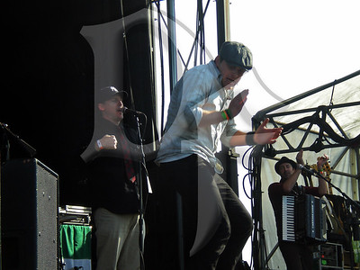 The Mighty Regis performs during Shamrock Fest 2011
