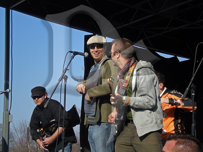 Icewagon Flu performs during Shamrock Fest 2011