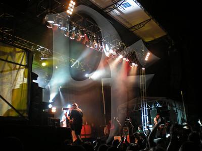 Dropkick Murphy's perform during Shamrock Fest 2011