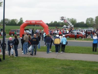 2012-04-29 - Scoops for Troops - 5K run, 3K walk