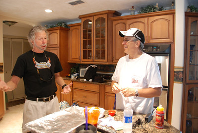 ...Larry & Buddy ready to eat.