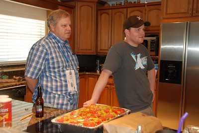 Mike, Chris and Stavros Greek Salad