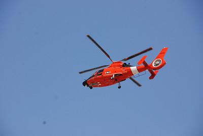 Coast Guard chopper...