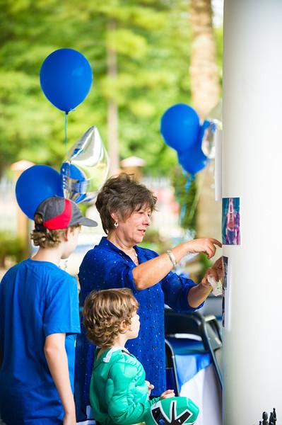 August 25, 2012 - Celebration dinner for John Mark Loudermilk, the new blue Power Ranger!  Photo by John D. Helms