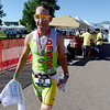 "Steve Johnson was the first finisher and second over all in the  2012 Boulder 5430 Sprint Triathlon on Sunday at the Boulder Reservoir. <br /> For more photos and a video of the triathlon, go to  <a href=""http://www.dailycamera.com"">http://www.dailycamera.com</a>.<br /> Cliff Grassmick / June 17, 2012"
