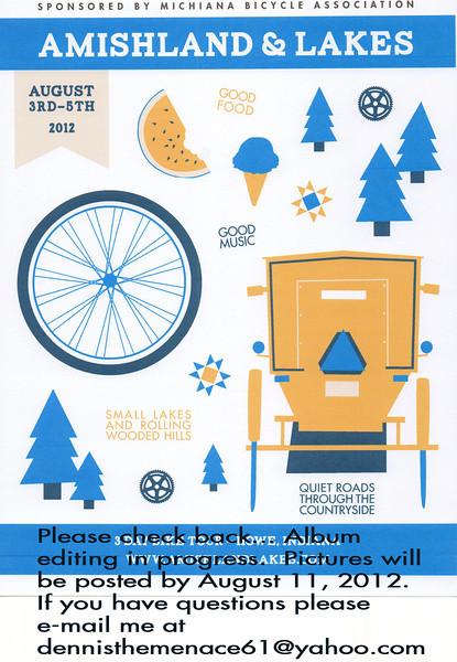 2012 Amishland and Lakes Bike Ride