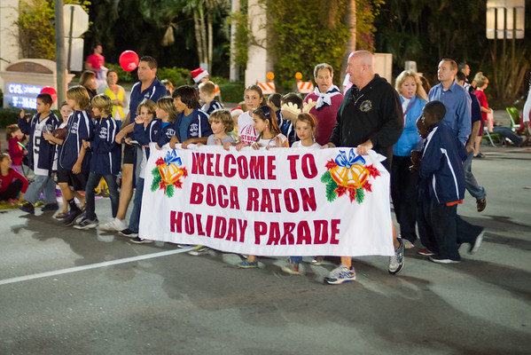 2012 Boca Raton 42nd Annual Holiday Street Parade