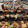 "Volunteers pack over 54,000 lunches in Balch Field House for Monday's Bolder Boulder Race.<br /> For a video and more photos of Bolder Boulder preparations, go to  <a href=""http://www.dailycamera.com"">http://www.dailycamera.com</a>.<br /> Cliff Grassmick / May 26, 2012"