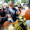"Owen Folkerts, 2, checks out the gourds at the Fall Fest with his parents, Katie and Jonathan.<br />  The 25th Annual Downtown Boulder Fall Festival is being held on the Pearl Street Mall this weekend<br /> Boulder County's favorite fall celebration brings music, food, arts and a children's carnival.<br /> For more photos and a video of theFall Festival, go to  <a href=""http://www.dailycamera.com"">http://www.dailycamera.com</a>.<br /> Cliff Grassmick  / September 22, 2012"