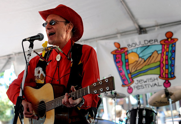 "Hal Aqua, also known as ""Cowboy Hersch,"" plays at the 2012 Jewish Festival on Sunday.<br /> For more photos and a video of the festival, go to    <a href=""http://www.dailycamera.com"">http://www.dailycamera.com</a>.<br /> Cliff Grassmick / June 10, 2012"