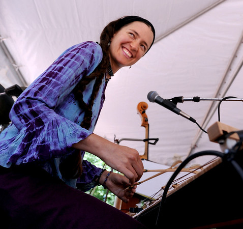 "Beth Quist of the group, ""Sherefe,"" plays the sandor  during the band's performance at the Boulder Jewish Festival.<br /> For more photos and a video of the festival, go to    <a href=""http://www.dailycamera.com"">http://www.dailycamera.com</a>.<br /> Cliff Grassmick / June 10, 2012"