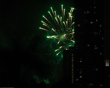 Riverfire Fireworks 2012; City, Brisbane, Queensland, Australia; 29 September 2012. Photos by Des Thureson - http://disci.smugmug.com.