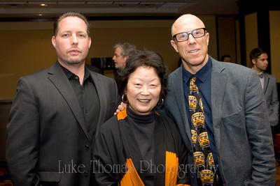 Vince Courtney, Esther Marks and Ken Tray.