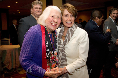 Jane Morrison and Nancy Pelosi.