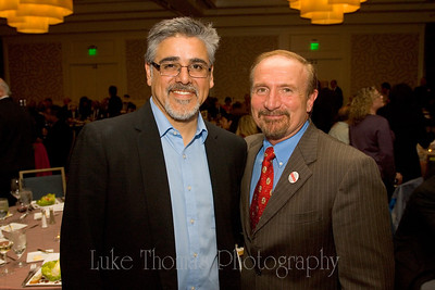 Supervisor John Avalos and National Union of Healthcare Workers president Sal Rosselli.