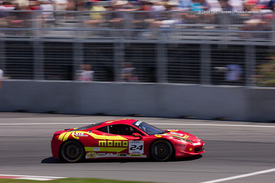 Ferrari Challenge race, a support race that happens during the same weekend as the Grand Prix.
