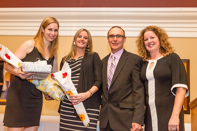 ATs Bruce Marshall and Nadine Smith honouring Dr. Jessica Butler and Dr. Taryn Taylor