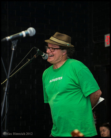 Tim Smith discusses his problems with cholesterol<br /> <br /> Carrboro Music Festival<br /> Carrboro, NC<br /> September 30, 2012