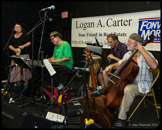 Tim Smith, Eileen Regan and Friends<br /> <br /> Carrboro Music Festival<br /> Carrboro, NC<br /> September 30, 2012