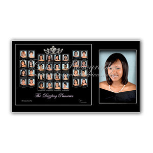 Debutante Composite 8x10 group and 5x7- $35