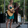 LIzzie Ross with her band<br /> <br /> Eno Festival<br /> Durham, NC 27705<br /> July 4, 2012