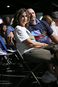 Jay Marie Granger and her husband Chip of Texas, attend the opening Mass of the 2012 Eucharistic Congress. The Grangers are members of Our Lady of Lourdes Church, Vidor.    (Page 4, June 21, 2012 issue)