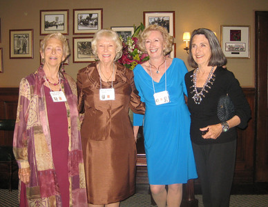 Carole Strahan Wunderly, Mary Jo Nelson Settles, Luanna Gregson Young, Sharon Heaton Kinney