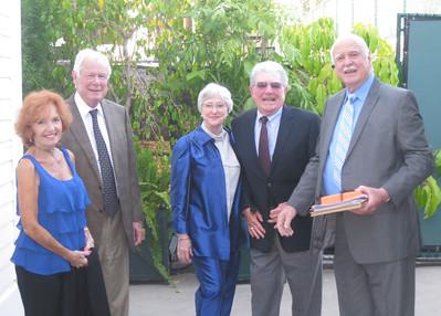 Monty Pentz, Ray Pentz, Marci Neurah, Bob Myers, Dan Feltham