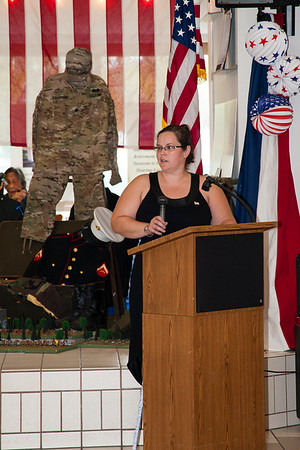 1st Lt. Rebecca Ludwick, US Army, Sarasota County Veterans Commission President