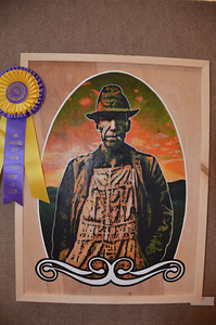 Best of Show at the annual Choctaw Nation Art Show was won by this artwork by J. Dylan Cavin.