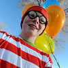 "Jackson Brown may be the real ""Waldo."" He is preparing to run the Quicker Quaker 5K on Saturday.<br /> For more photos and a video of the festival, go to  <a href=""http://www.dailycamera.com"">http://www.dailycamera.com</a>.<br /> January 14, 2012 / Cliff Grassmick"