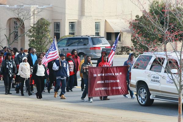 2012 MLK Day Ceremony in Cartersville