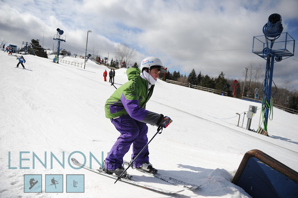 Rail Jam - Skiers