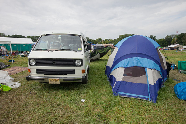 Another VW van in the parking lot.(Howard Pitkow/for Newsworks)
