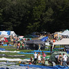 Campers setting up for a weekend of fun and music.(Howard Pitkow/for Newsworks)