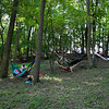 Relaxing in shady Dulcimer Grove. (Howard Pitkow/for Newsworks)