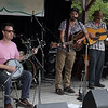 Local favorites Hezikiah Jones perfoming on Daturday afternoon. (Howard Pitkow/for Newsworks)