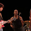 Trombone Shorty & Orleans Avenue were the Sunday night crowd favorite.  (Howard Pitkow/for Newsworks)