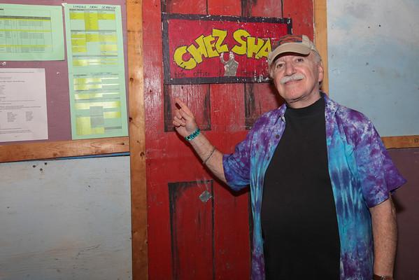 Gene Shay Philadelphia's folk music authority about to MC his 51st Philadelphia Folk Festival. (Howard Pitkow/for Newsworks)