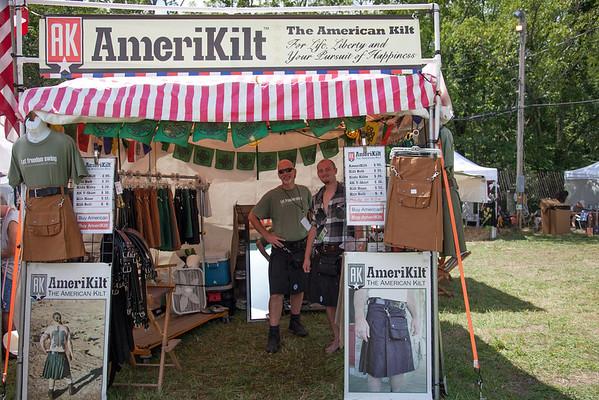Custom made kilts were a big seller. (Howard Pitkow/for Newsworks)