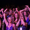 Enthusiastic Saturday night crowd watching Little Feet. (Howard Pitkow/for Newsworks)